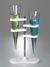 Imhoff cone rack 300x220x450 mm stainLess steel V2A Stand for Imhoff Sedimentation cones, PP The...