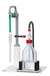 simvac behrotest system stand with neutralisation flask, water jet pump and temperature resistent...